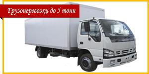 Грузоперевозки до 5 тонн Киев
