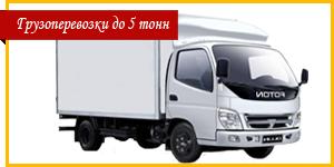 Перевозки до 5 тонн Житомир